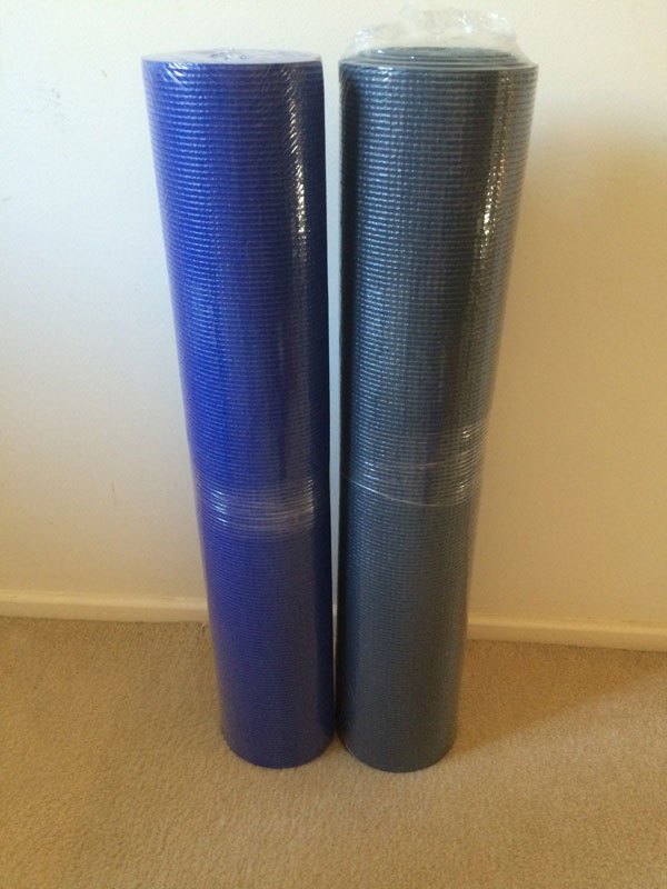 LARGE 6MM YOGA MAT